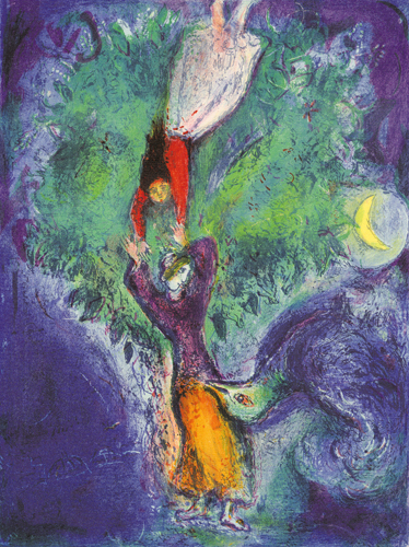 So she came down from the tree..., 1948 - Marc Chagall