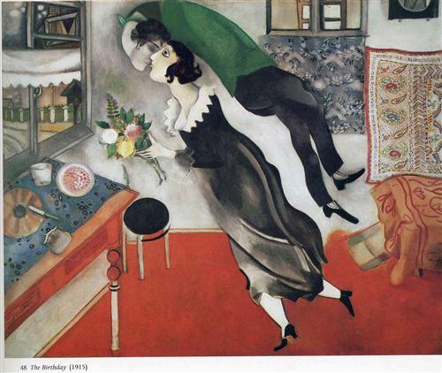 The Birthday - Marc Chagall