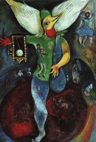 The Juggler, 1943 - Marc Chagall