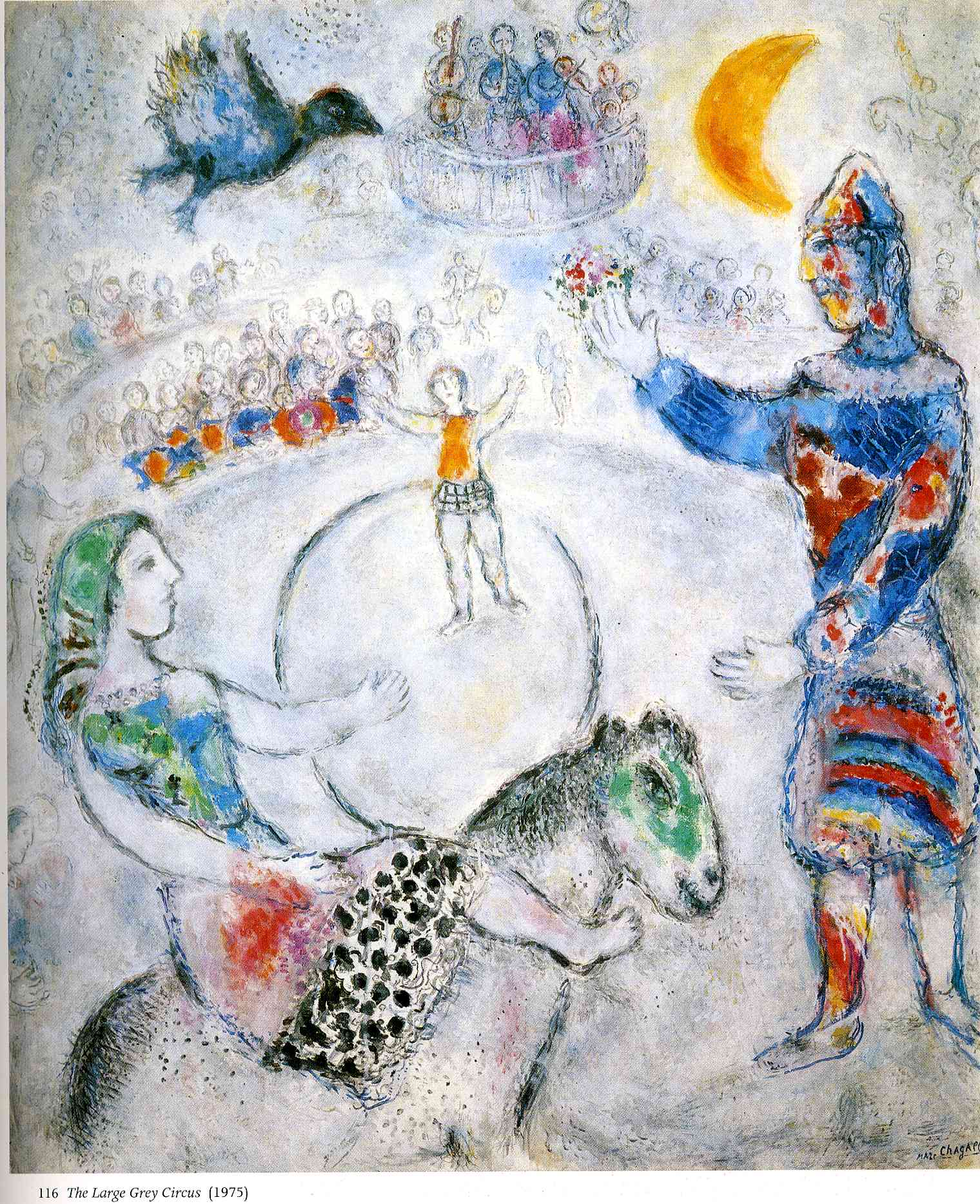 Chagall Circus Paintings