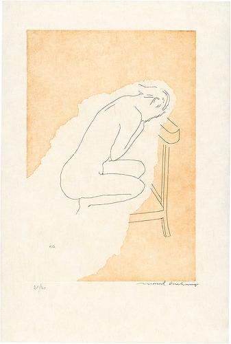Bare Stripped Bride, 1968 - Marcel Duchamp