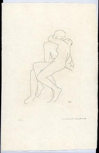 Selected Details after Rodin, 1968 - Marcel Duchamp
