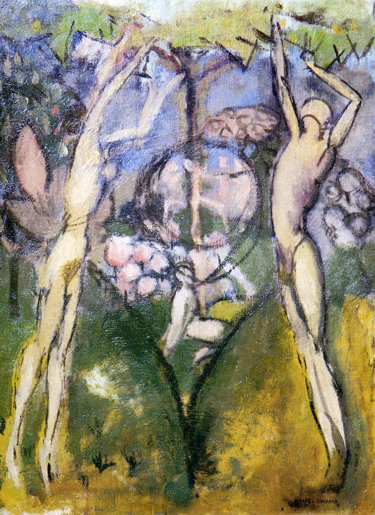 Duchamp Painting On Glass
