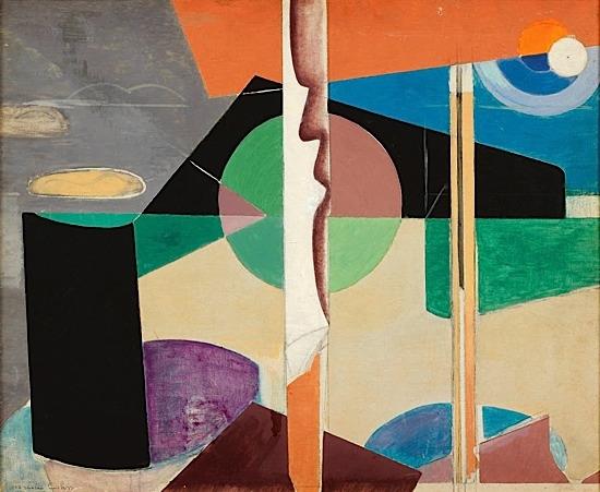 Composition, 1937 - Marcelle Cahn