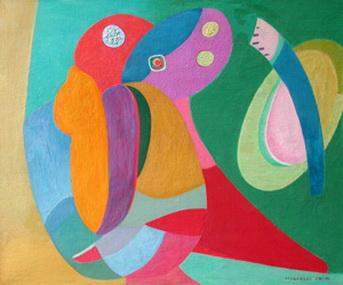 En Courbes Violontes - Marcelle Cahn