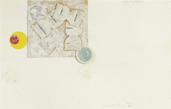 Untitled, 1973 - Marcelle Cahn