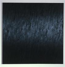 Black Painting VIII: Ultramarine Blue, Burnt Umber - Марша Хафіф