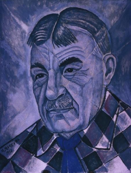 Portrait of Sergei Diaghilev, 1956 - Marevna (Marie Vorobieff)