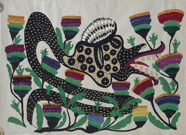 Serpent, 1959 - Maria Primatchenko