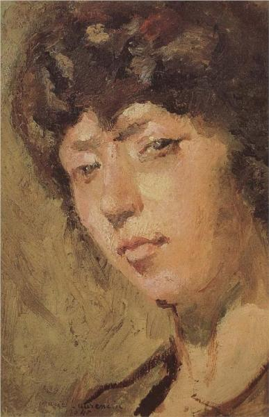 Self-Portrait - Marie Laurencin