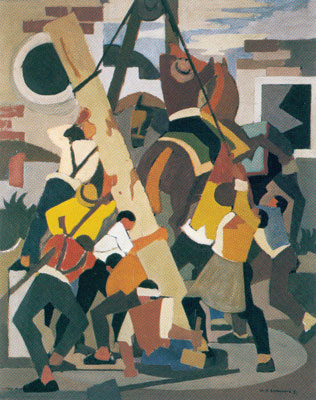 Il Lavoro, 1951 - Mario Comensoli
