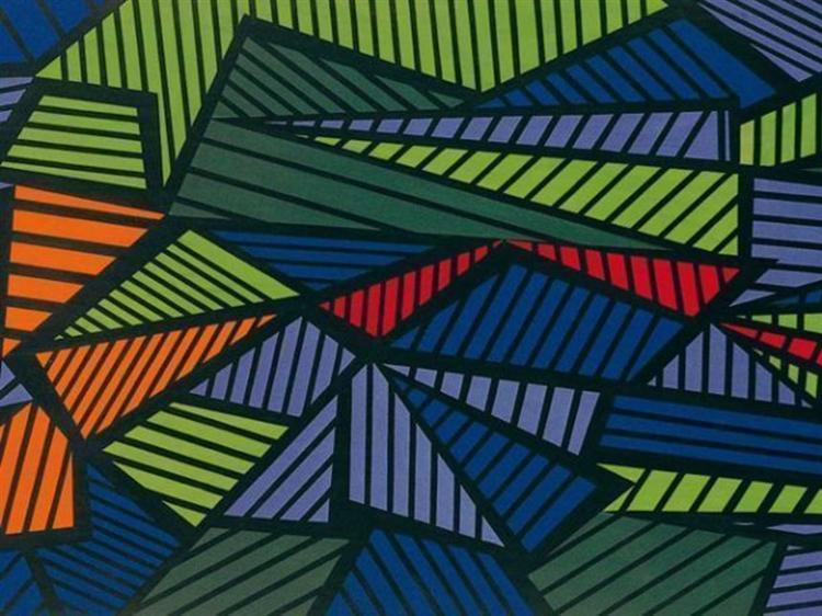 Pittura: Fuga, 1952 - Mario Nigro