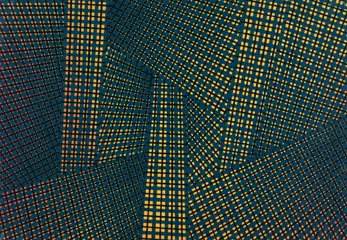 Spazio totale, 1953 - Mario Nigro