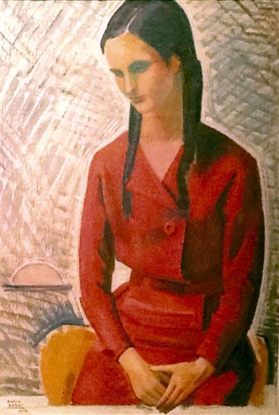 Ritratto della Signora Jenny Borghi, 1959 - Mario Tozzi