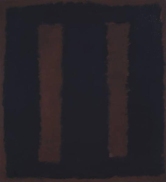 Black on Maroon, 1958 - Mark Rothko