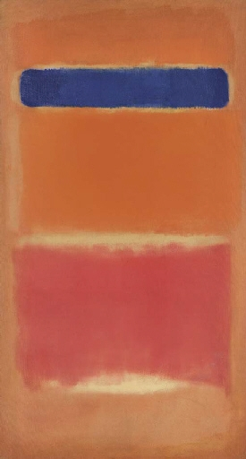 Blue Over Red, 1953 - Mark Rothko