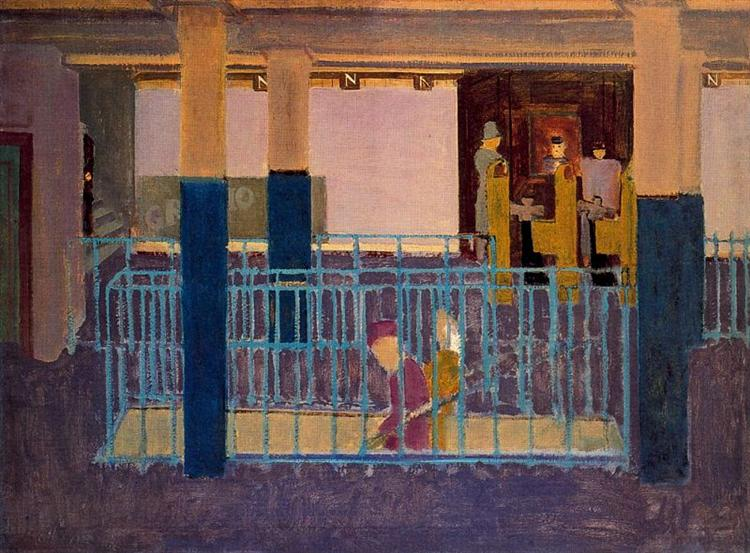 Entance to Subway - Mark Rothko
