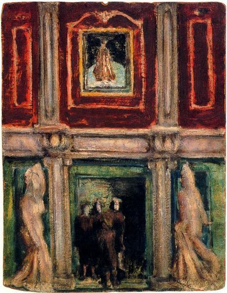Interior, 1936 - Mark Rothko