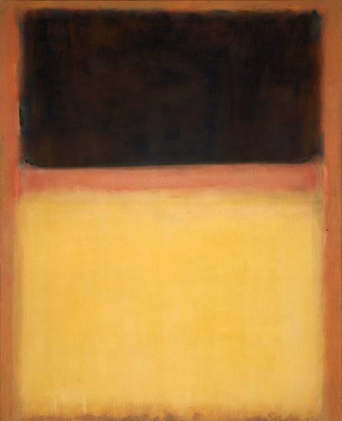 No.9 (Dark over Light Earth), 1954 - Mark Rothko