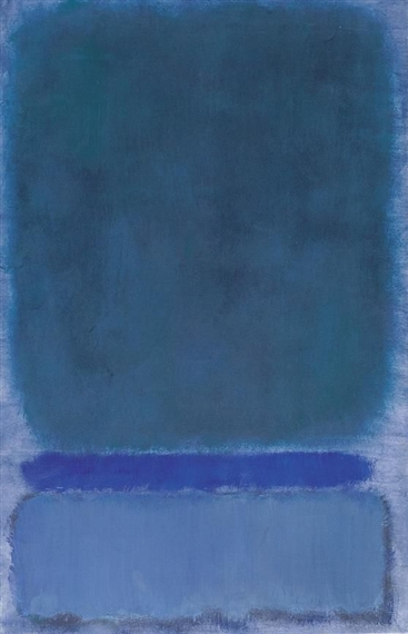 Untitled (Green on Blue), 1968 - Mark Rothko