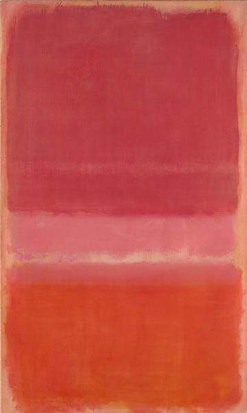 Untitled (Red), 1956 - Mark Rothko