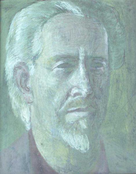 Self Portrait, 1953 - Mark Tobey