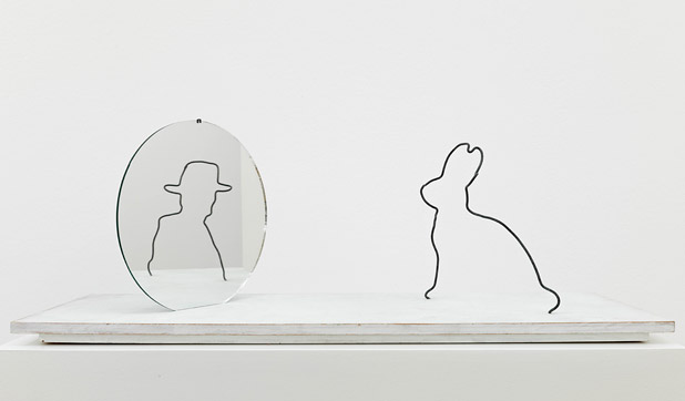 Hasenspiegel, 2000 - Markus Raetz