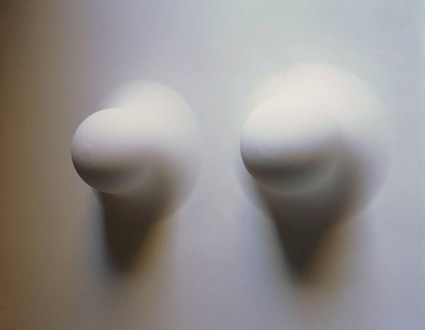 Work No. 264 (Two protrusions from a wall), 2001 - Martin Creed