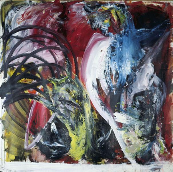 Untitled, 1983 - Martin Disler