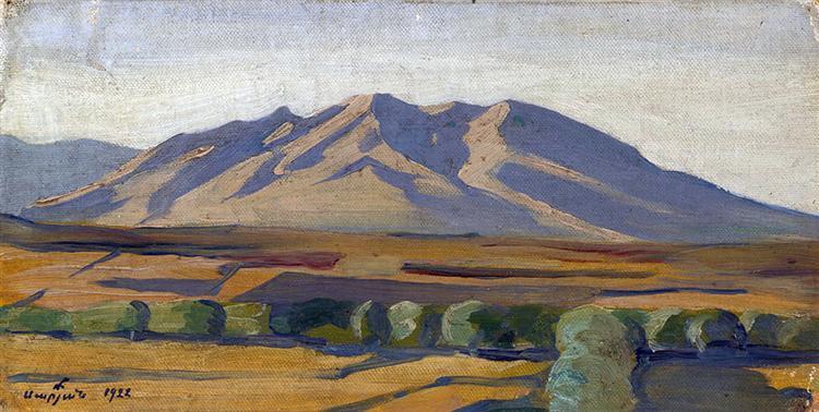 Kara-Dag Mountain, 1922 - Мартирос Сарьян