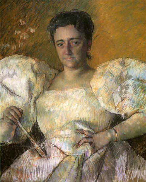 Portrait of Mrs. H. O. Hevemeyer, 1896 - Mary Cassatt