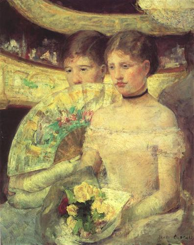 The Loge - Mary Cassatt