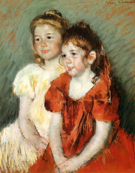 Young Girls, 1897 - Mary Cassatt