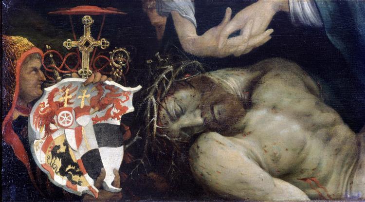 Lamentation of Christ (detail), c.1525 - Matthias Grünewald