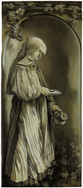 St. Elizabeth of Hungary, 1509 - 1511 - Matthias Grünewald