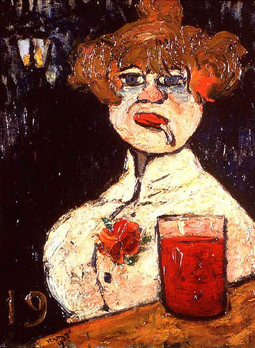 The Bar Counter - Maurice de Vlaminck