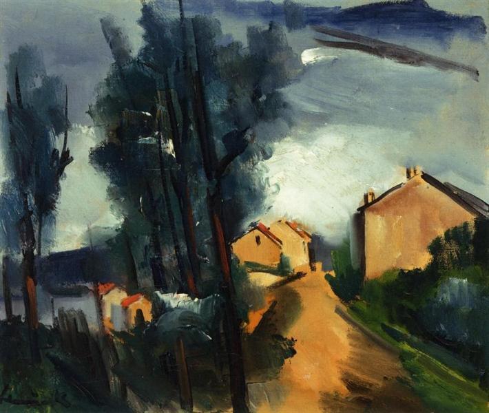Landscape, 1919 - Maurice de Vlaminck