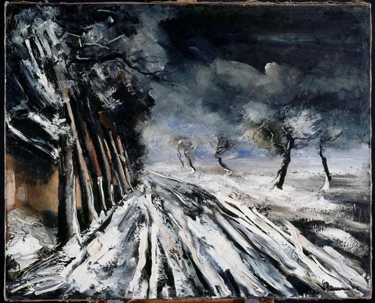 Snowstorm - Maurice de Vlaminck