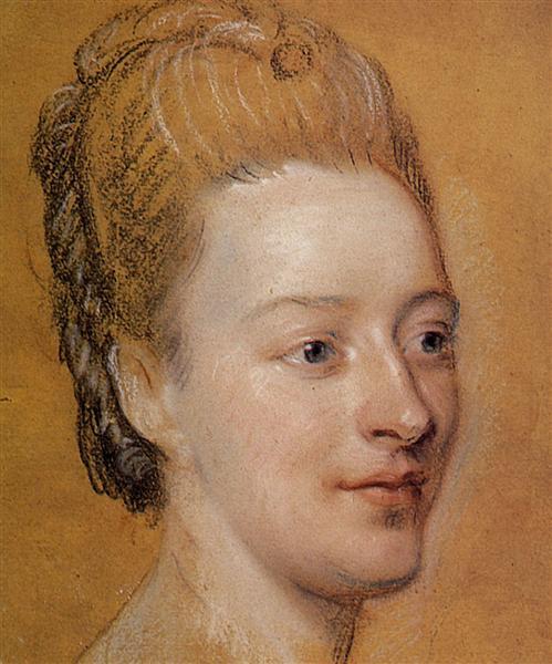 Portrait of Isabelle de Charriere, 1766 - Quentin de La Tour