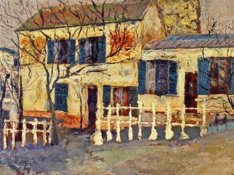 """Lapin Agile"" - Maurice Utrillo"