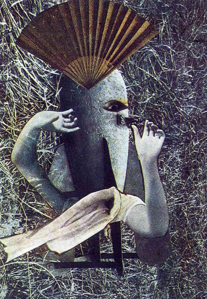 The Chinese Nightingale, 1920 - Max Ernst