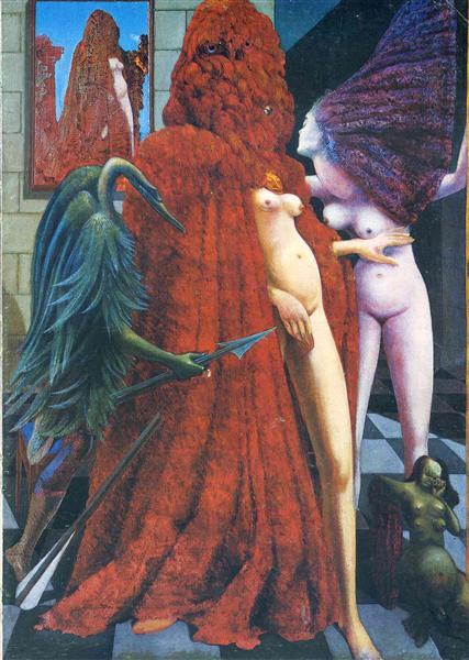 The Robing of the Bride, 1940 - Max Ernst