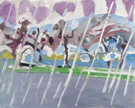 Rain Landscape, 1956 - Max Gubler