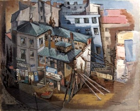 St. George Place in Crotches, 1935 - M. H. Maxy