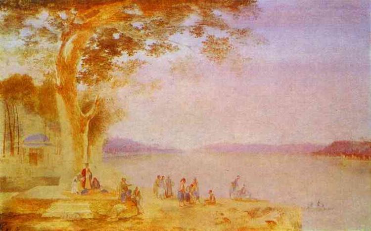 Oriental Landscape, 1820 - 1821 - Maxim Vorobiev