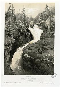 Cascade de Cérizet (Cauteretz (i.e. Cauterets)) - Максим Лаланн