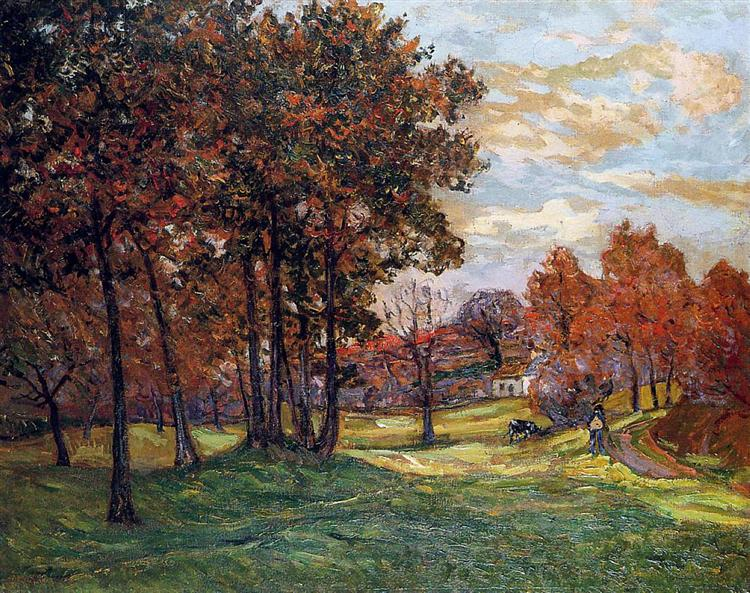 Autumn Landscape at Goulazon, 1900 - Maxime Maufra