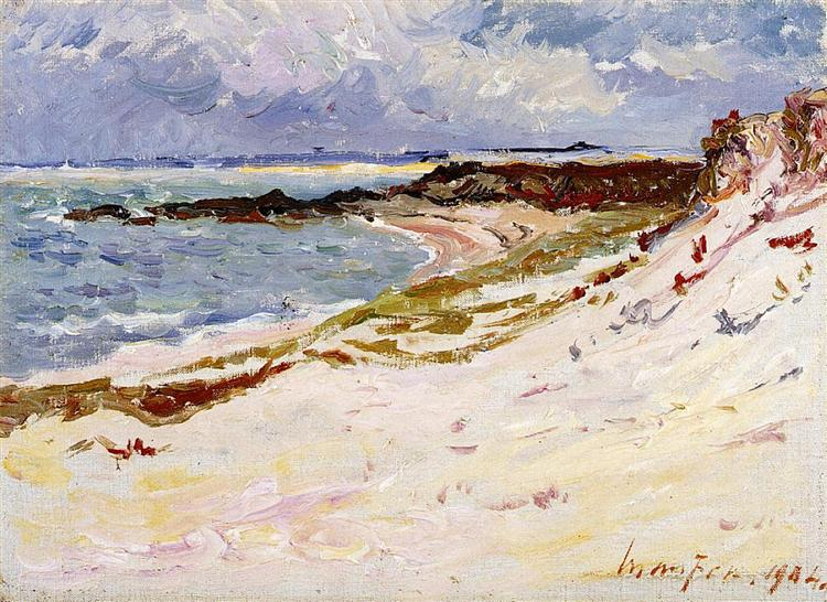 By the Sea, 1904 - Maxime Maufra