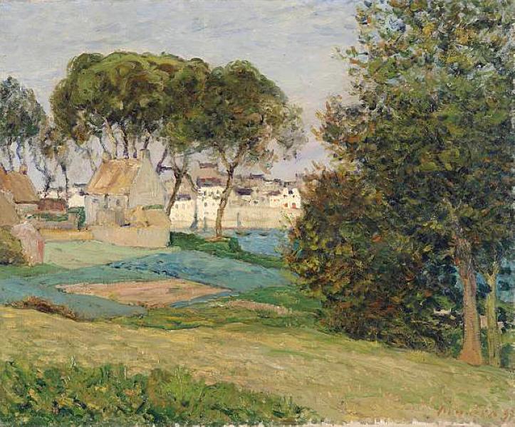 Douarnenez, October landscape, 1896 - Maxime Maufra