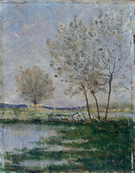Flooded meadows - Maxime Maufra
